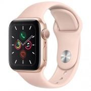 Apple Watch Series 5 GPS 40mm Gold Aluminium Case Pink Sand Sport Band