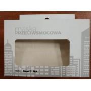Maska maseczka antysmogowa Casual Ozone Mask S/KIDS N95 Kremowa