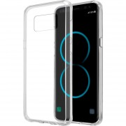 Funda Case Para Samsung S8 Plus Protector Transparente De Acrílico Con Bordes De Plastico TPU - Transparente