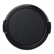Tapa de lente de plastico universal de 58 mm para camara sony / pentax - negro