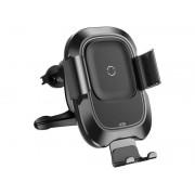 Baseus uchwyt samochodowy z ładowarką Qi Smart Vehicle black