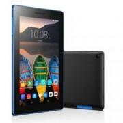 "Таблет Lenovo Tab 3 (ZA130087BG)(черен), LTE, 7"" (17.78 cm) WSVGA IPS дисплей, четириядрен Mediatek 1.0GHz, 1GB RAM, 8GB Flash памет (+ microSD слот), 5.0 & 2.0 Mpix камера, Android, 260g"