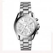 Michael Kors Watches Michael Kors horloges Mk6174 Mini Bradshaw zilver RVS chronograaf d...