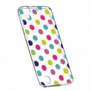 Husa Silicon Transparent Slim Dots Color HTC Desire 825