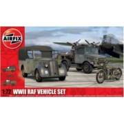Kit automodele Airfix 3311 WWII RAF Vehicle Set Scara 1 72