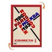 Edimeta Cadre Clic-Clac B2 70 x 50 cm ROUGE