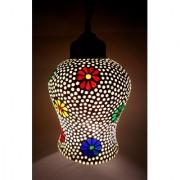 Decorative Hanging Lamp Shade Artistic Design Ceiling Lamp Multicolor Pendant