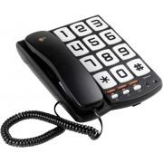Telefon analogic Sologic T101, taste mari si ton de apel puternic