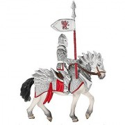 Schleich Exclusive Red Griffin Knight on Horse Action Figure with Lance 72034