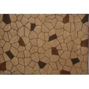Vlněný koberec DESIGN Stone d-06, 170x240 cm