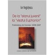 De la entuziasmul juvenil la visatul Euphorion. Publicistica de tinerete 1938-1947/Lelia Nicolescu, Ion Negoitescu