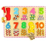 Bigjigs Fa számolós puzzle II