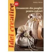 Idei creative 69 - Ornamente din panglici pentru cadouri - Radics Maria