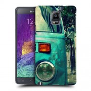 Husa Samsung Galaxy Note 4 N910 Silicon Gel Tpu Model Vintage Car