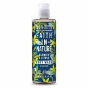 Gel de dus si spuma de baie cu alge marine si citrice Faith in Nature 400 ml