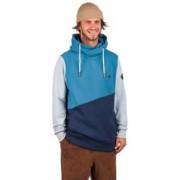 Kazane Johan Hoodie : bluesteel/dress bl./cel. - Size: Extra Large