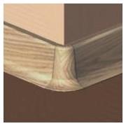 PBE605.66-S4 - Set 4 bucati piese colt exterior culoare stejar deschis pentru plinta PBC605