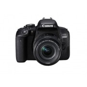 Canon Kit Cámara Réflex CANON EOS800D+EF-S18-55 F4-5.6IS STM (24.2 MP - ISO: 100 a 25600 - Sensor: APS-C)