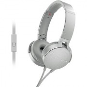 Sony Stero MDR-XB550AP Bluetooth Headphone White