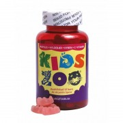 Kids Zoo Propolis + Elderberry + Rosehip + C-vitamin 60 pcs Vitamins