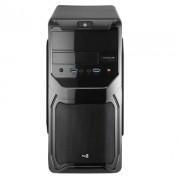 Caixa AEROCOOL QS-183 ADVANCE MICRO-ATX 2XUSB3.0, SD CARD READER, 1X80MM FAN Black - QS183ADBK
