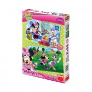 Dino puzzle 2x66 kom Minnie Mouse