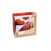 Puzzle de lemn Cars-B BRIMAREX 4 piese