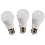 Set 3 becuri CVMORE LED lumina calda E27 10W 800 lm clasa energetica A+ - E27.00140