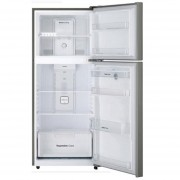 Refrigerador 16pies con despachador Daewoo modelo DFR-44520GMDX plata