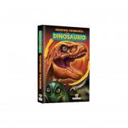 Tras la Pista de los Dinosaurios + 1 Cuento con cuadernillo de actividades +4 Escenarios a color de las eras geologicas + 4 Plantillas con coloridos stickers de dinosaurios.