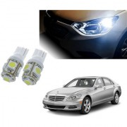 Auto Addict Car T10 5 SMD Headlight LED Bulb for Headlights Parking Light Number Plate Light Indicator Light For Mercedes Benz S-Class