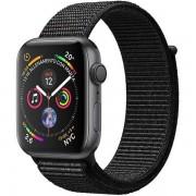 Apple Watch Series 4 Gps + Cellular Cassa In Alluminio Grigio Siderale Con Sport Loop Nero (44 Mm)