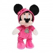 Disney - Jucarie de plus Minnie Mouse in salopeta, 25 cm