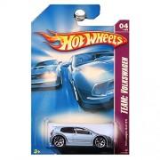 Hot Wheels 2008 132 Team: Volkswagen # 4 of 4 Steel Blue Volkswagen VW Golf GTI 1:64 Scale