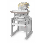 Scaun de masa multifunctional 2 in 1 Baby Design Candy Beige