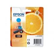 Epson Cartucho de tinta original EPSON, 33, Naranjas 8,9 ml , Cian, Alta, XL, C13T33624022, T3362