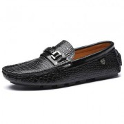 Stylish Comfortable Leather Casual Flat Shoes for Men