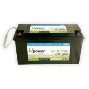 Batería para buggies de golf 12V 150Ah Upower Ecoline UE-12Li150BL