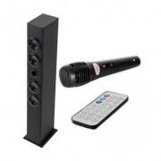 Torre de Sonido Iwown 40W Negro Bluetooth Karaoke