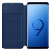 Husa Flip Cover Samsung EF-NG965PLEGWW Book LED View Blue pentru Galaxy S9 Plus