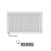 12027901001 - REHAU chladenie stropný element 1000×1250 mm, 12027901001