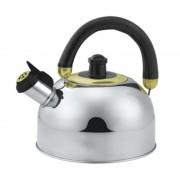 Ceainic inox cu fluier Bohmann, 2.5 l, maner negru