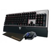 GAMDIAS Hermes E1 mekaniskt tangentbord, mus, musmatta