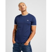 Fred Perry Twin Tipped Short Sleeve T-Shirt Heren - Blauw - Heren