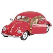 Masinuta Die Cast Volkswagen Classical Beetle, 17 cm, 3 ani+