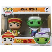 Funko Pop Gohan And Piccolo 2pack Dragon Ball Sticker Exclusiva Picoro Hijo De Goku