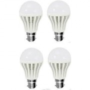 Pari & Prince LED B22 Cool Daylight Bulb 9watt (Cool Day Light Pack Of 4)