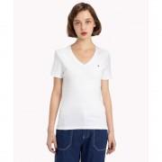 【SALE 40%OFF】トミーヒルフィガー TOMMY HILFIGER ベーシックVネックTシャツ (ホワイト)
