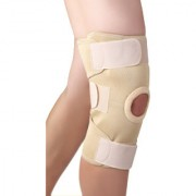 Kudize Elastic Knee Stabilizer Compression muscle Joint Protection Open Patella Injury Guard Premium Quality (Medium )