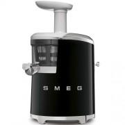 GARANTIE 3 ANI Storcator lent SMEG RETRO `50 corp si cos de plastic, 43 RPM, regulator nivel densitate suc, functie reverse, putere 150 W, NEGRU, SJF01BLEU